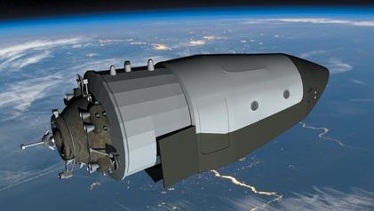 A Rússia vai lançar um novo cargueiro espacial até 2017