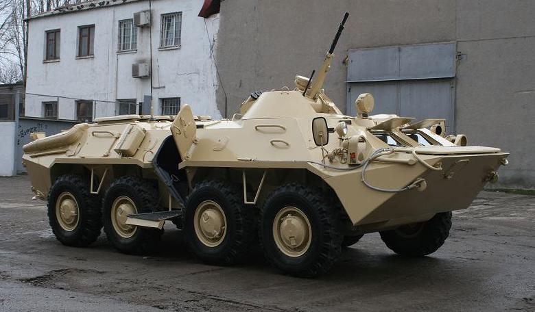 Ucrânia conclui desenvolvimento do BTR-70 Defender