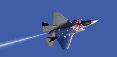 Austrália confirma aquisição do F-35