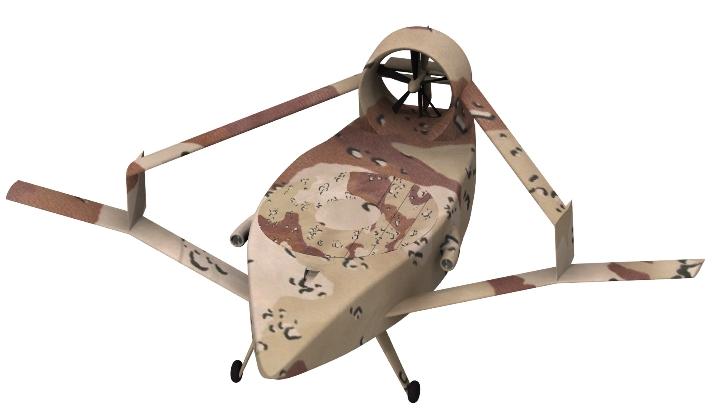 Demonstrador de conceito do veículo aéreo não tripulado V-STAR voa pela primeira vez