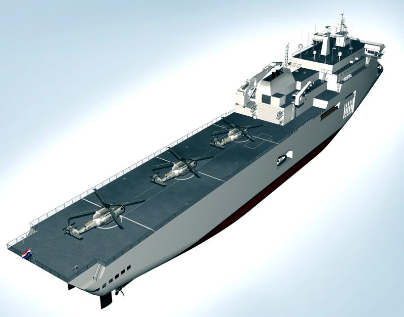 ASMAR, Marinha Chilena vai construir LPD