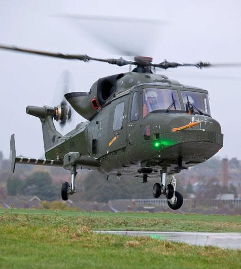 Primeiro vôo do Lynx Wildcat