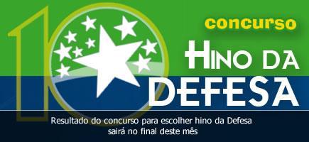 Ministério entrega prêmio a autores do Hino da Defesa