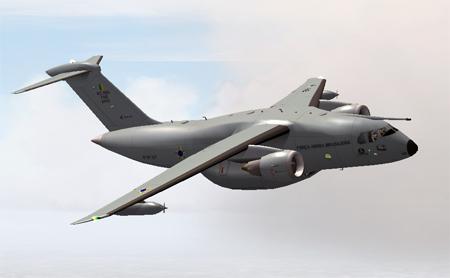 Defesa em Arte: KC 390 por JRLucariny