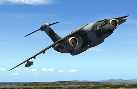 Defesa em Arte: Novas artes do KC 390 pro JR Lucariny