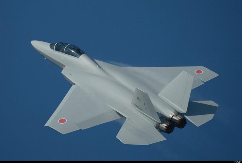 Caça furtivo japonês deverá voar em 2014