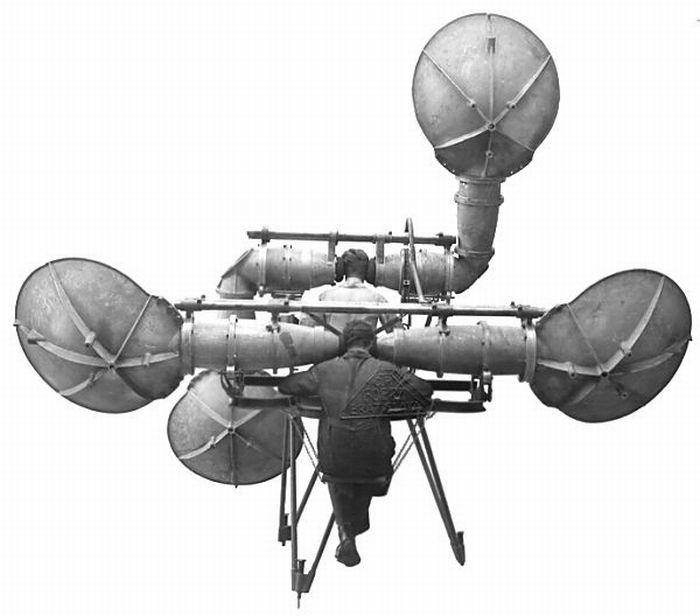 Você pode não acreditar, mas antigamente era assim que se tentava detectar    ataques aéreos