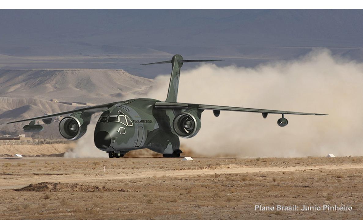 Colômbia prevê comprar 12 cargueiros KC-390 da Embraer