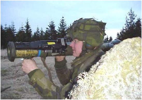 Sistemas de armas suecos no Brasil:AT-4