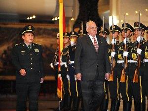 China convida Brasil para exercícios militares conjuntos em 2011